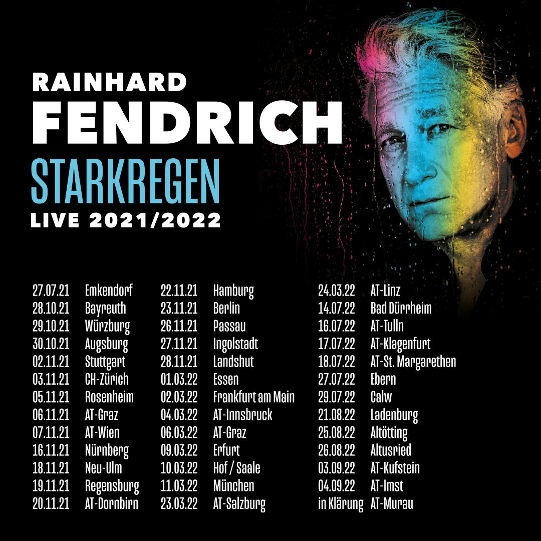 Aktuelle Tourdaten Rainhard Fendrich